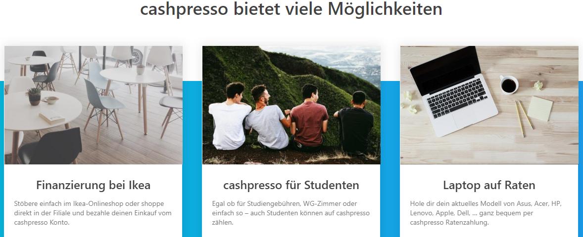 cashpresso Kredit